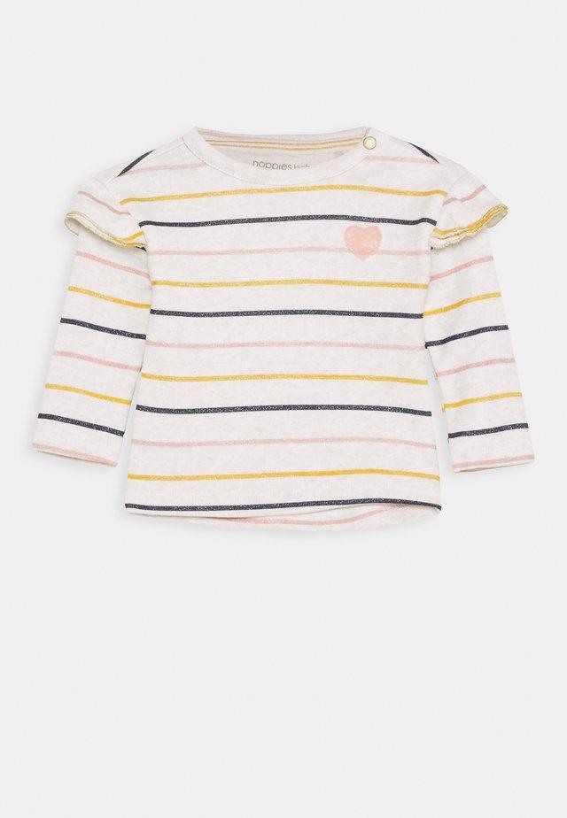 REGULAR RIETFONTEIN - T-shirt à manches longues - oatmeal