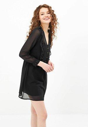 STRAIGHT FIT - Korte jurk - noir