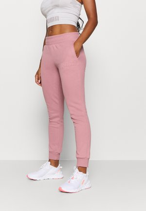 MODERN BASICS PANTS - Tracksuit bottoms - foxglove