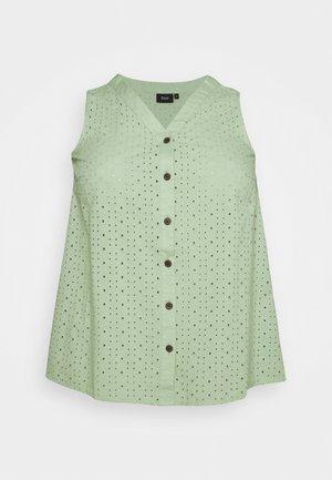 MANGUS - Blouse - silt green