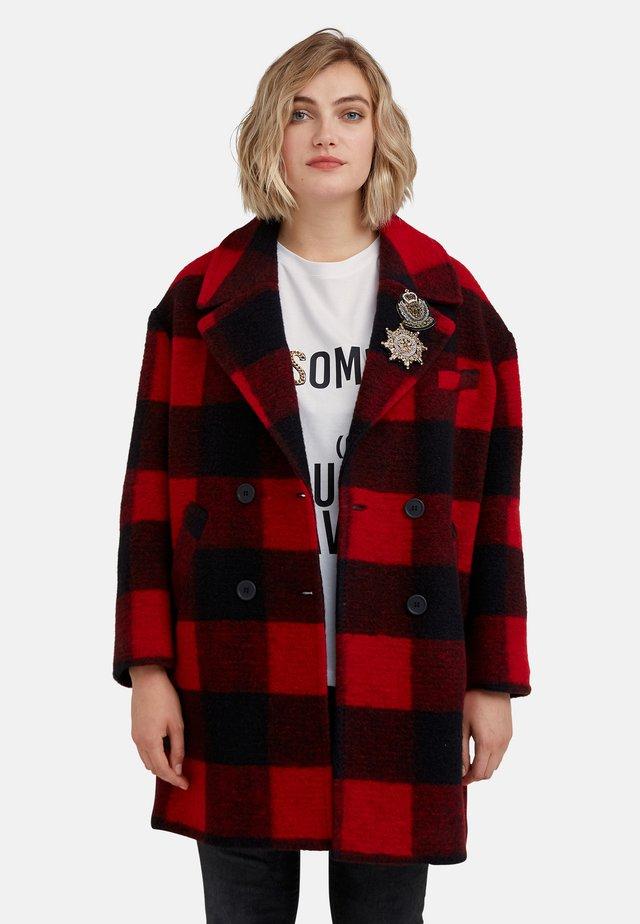 Abrigo corto - rosso