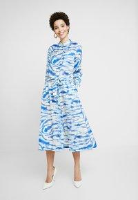 InWear - LIXI DRESS - Shirt dress - blue - 1