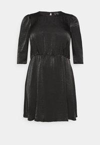 VMJENICE SHORT DRESS - Day dress - black
