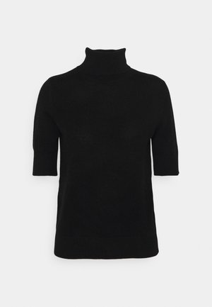 TURTLENECK SHORTSLEEVE - Print T-shirt - black