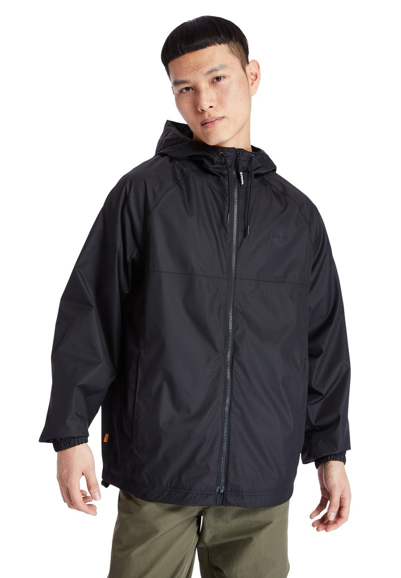 Timberland - WP HOODED SHELL - Waterproof jacket - black