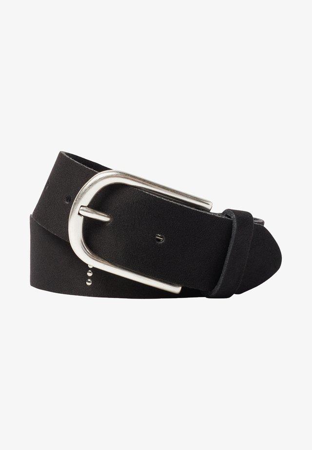 MIT NIETEN-SCHRIFTZUG - Belt - black