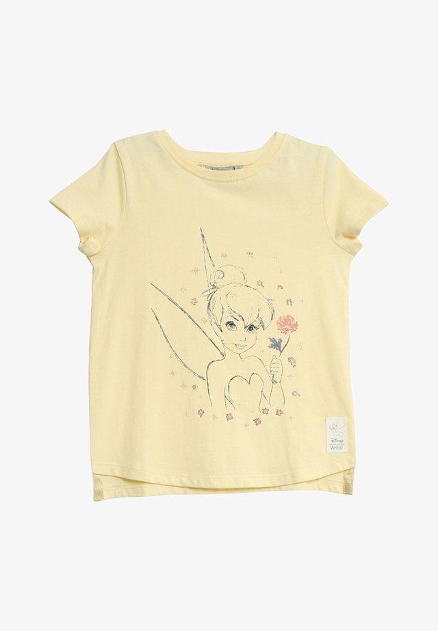 Print T-shirt - lemon curd