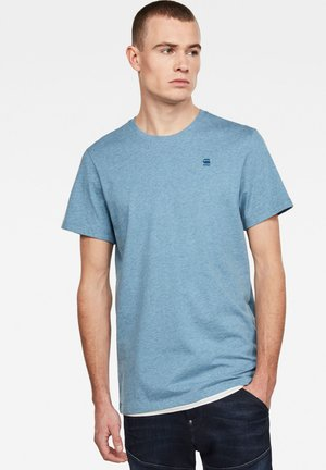 BASE-S - Basic T-shirt - delft htr