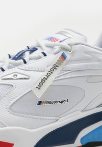 Puma - BMW MMS RS-FAST UNISEX - Trainers - white/marina/high risk red - 5