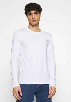 CORE TEE - Camiseta de manga larga - blanc pur