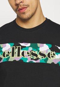 Ellesse - MORELA - T-shirt print - black - 5