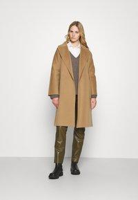 WEEKEND MaxMara - ROVO - Classic coat - camel - 1