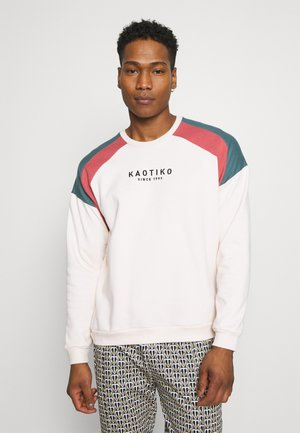 UNISEX CREW - Sweater - white