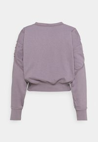 Nike Performance - CROP CREW - Sweatshirt - purple smoke - 1