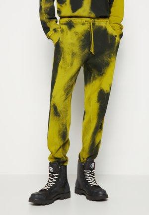 Tracksuit bottoms - yellow/black