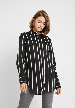KONNIE - Button-down blouse - black