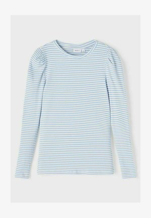 GESTREIFTES - Langærmede T-shirts - vista blue
