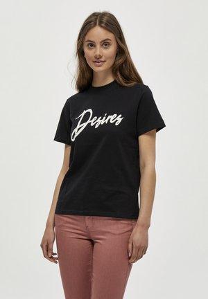 T-shirt con stampa - black pr