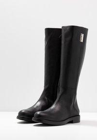 HUGO - VICTORIA FLAT - Boots - black - 4