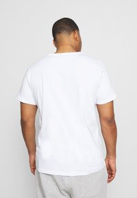LTB - 3 PACK - Basic T-shirt - navy/ bordeaux/ white - 3
