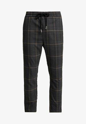 ONSLINUS CHECK PANT - Pantalon classique - almond