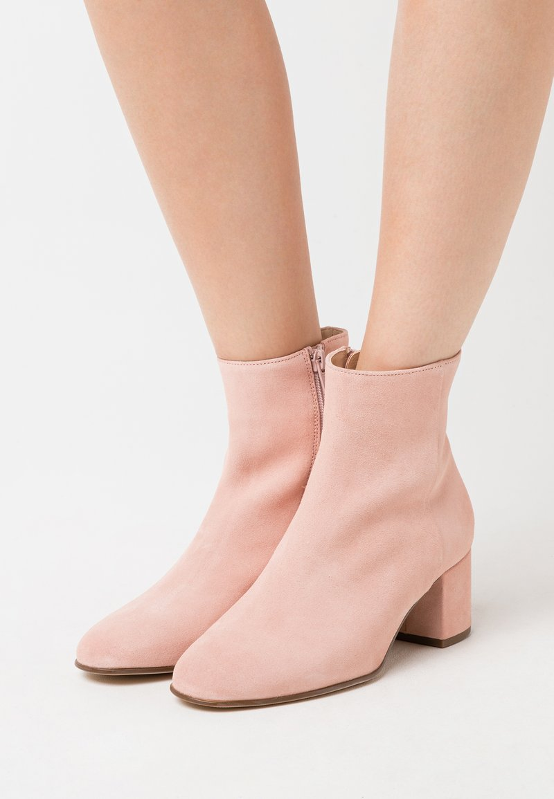 Högl - Classic ankle boots - rose