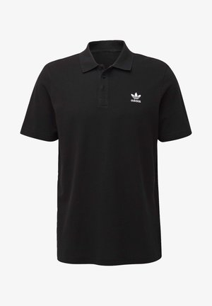 TREFOIL ESSENTIALS POLO SHIRT - Polo shirt - black