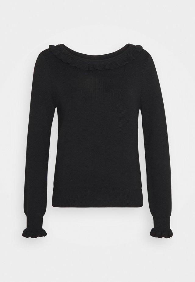 MFANCY - Stickad tröja - noir