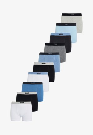 10 PACK - Pants - blue/grey/white/black