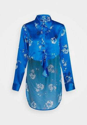 KNOT - Button-down blouse - crisantemo blue