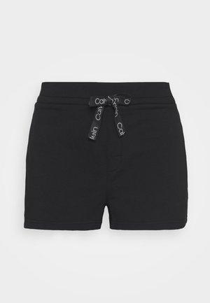SLEEP SHORT - Pyjama bottoms - black