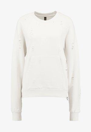 Sweatshirt - winter white