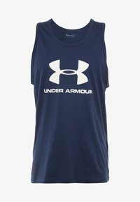 Under Armour - SPORTSTYLE LOGO - Top - dark blue/white - 4