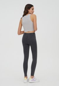 PULL&BEAR - Leggings - Trousers - dark grey - 2