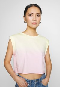 Guess - SUNRISE TEE - Topper - pink - 4