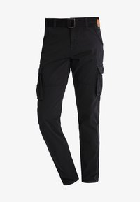 INDICODE JEANS - WILLIAM - Pantaloni cargo - black - 5