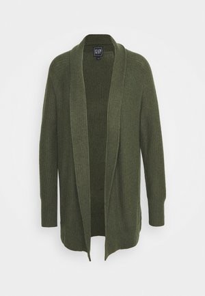 BROOKLYN CARDI - Strickjacke - olive