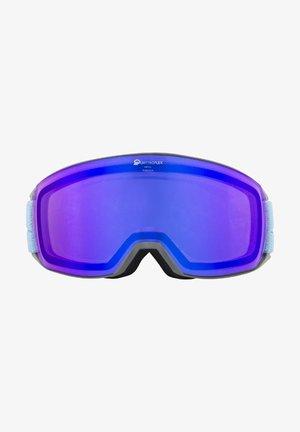 NAKISKA QHM - Masque de ski - grey-skyblue