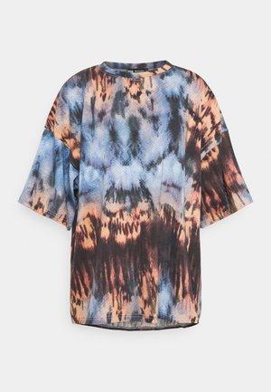 OVERSIZED TIE DYE  - Print T-shirt - multi