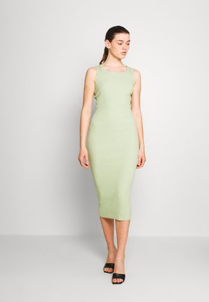 Jersey dress - pastel green