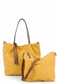 Emily & Noah - ELKE - Shopping bag - yellow - 3