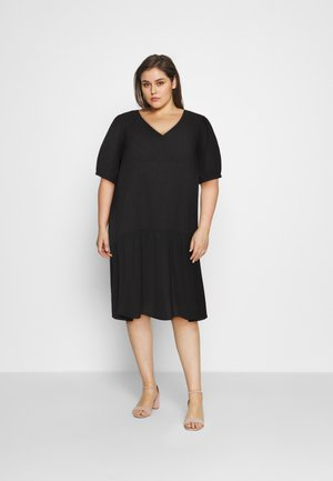 MJANICA KNEE DRESS - Day dress - black