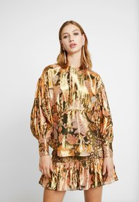 Thurley - TANGLEWOOD BLOUSE - Bluzka - black/gold - 0