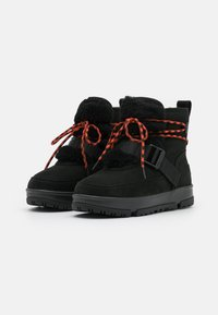 UGG - CLASSIC WEATHER HIKER - Winter boots - black - 2