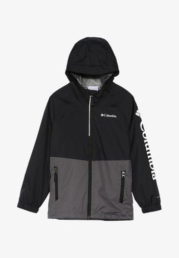 DALBY SPRINGS JACKET - Waterproof jacket - city grey/black