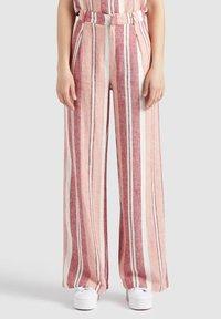 khujo - MAHSALA - Trousers - pink - 7