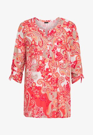 Tunic - coral/peach/ taupe