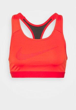 BRA - Medium support sports bra - chile red/university red