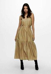 ONLY - ONLVIVI DRESS - Maxi dress - elmwood - 0