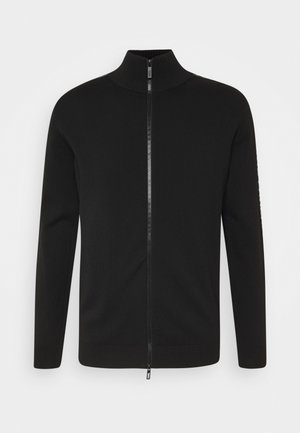 ZIP JACKET - Kardigan - black